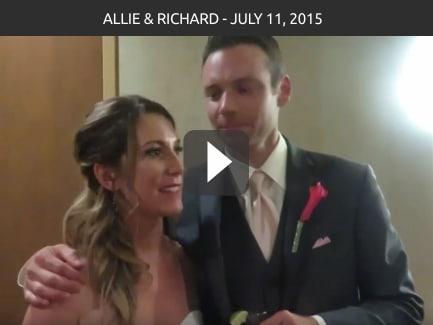 Allie & Richard – July 11, 2015