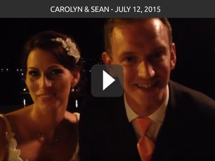 Carolyn & Sean – July 12 2015