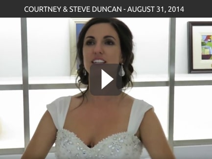 Courtney & Steve Duncan – August 31, 2014