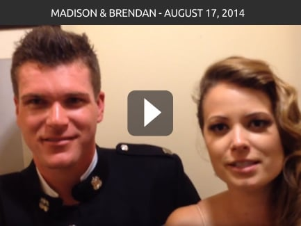 Madison & Brendon Taylor – August 17, 2014
