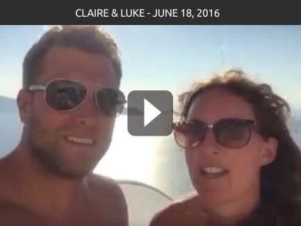 Claire & Luke – June 18, 2016