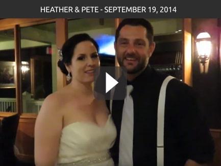 Heather & Pete – September 19, 2014