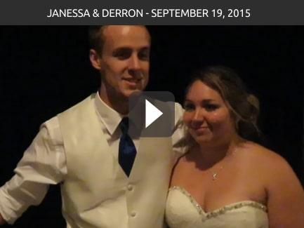 Janessa & Derron – September 19, 2015