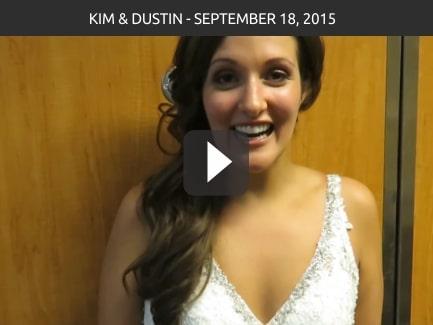 Kim & Dustin – September 18, 2015