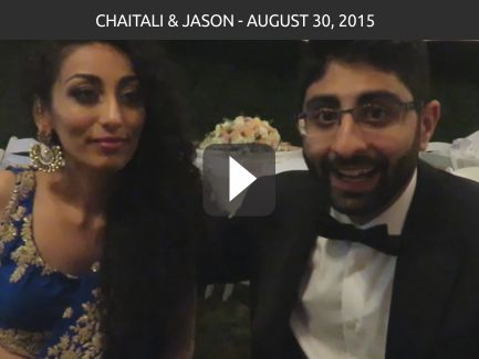Chaitali and Jason – Aug 30 2015