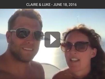 Claire & Luke – June 18, 2016