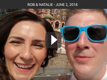 Rob & Natalie – June 2, 2018